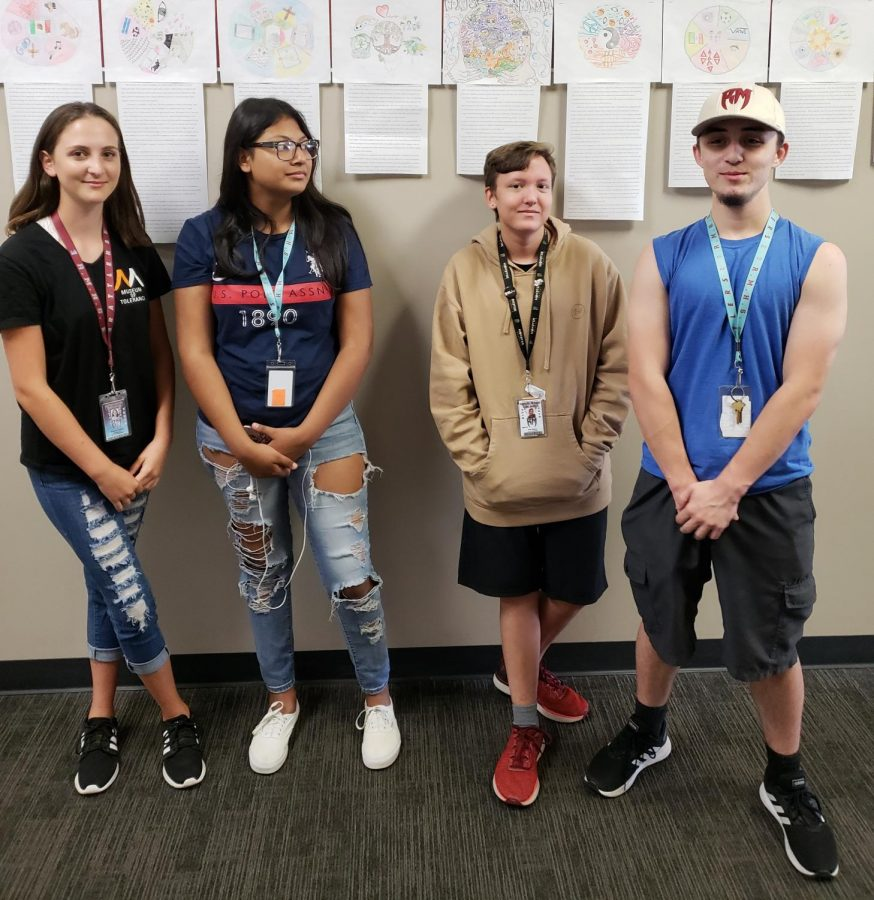 Some of our editors for 2018-2019